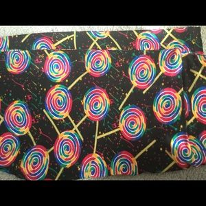 Lularoe OS Lollipop leggings.
